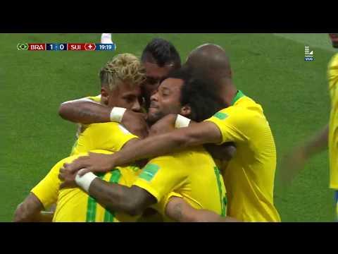 Gol Brasil: Brasil vs Suiza