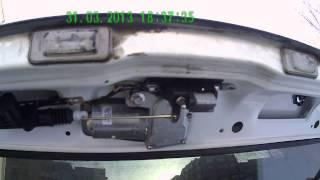 Электро привод замка багажника ВАЗ 2113