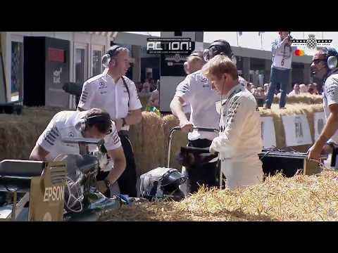 Goodwood Festival Of Speed - 02.07.17 F1 Cars / Celebrating Bernie Acclestone / Lord March
