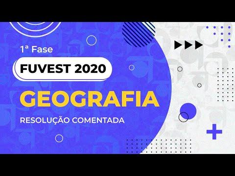 Resolução Comentada - FUVEST 2020 - 1ª Fase - Prof. Nunes E Prof. Tom - Geografia