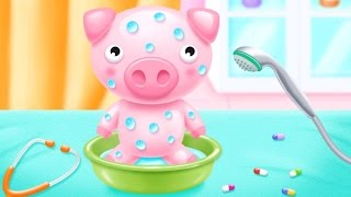 Baby Doll House Bathroom, Bedroom, Toy Hospital and Dress up Games for Children ► TiKiFun