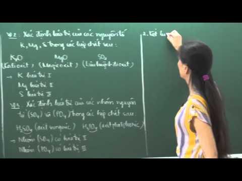 Hóa Học lớp 8 - Hóa trị (tiết 1) - Cô Hoàng Kim Nhung [HOCMAI]