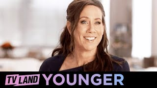 Younger | Being Basic & Sutton Foster's Helicopter Fears | Behind the Scenes Season 3 Ep. 3