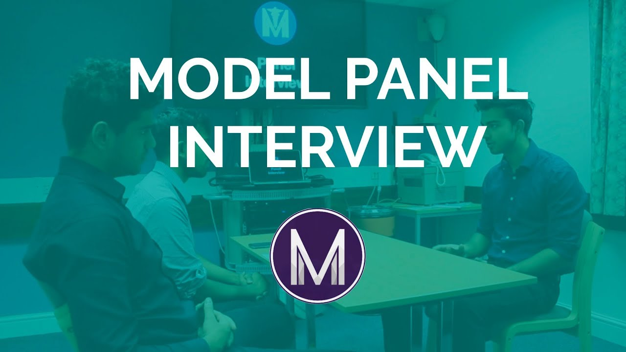 Medicine Panel Interview | Model Candidate