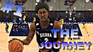 "NBA 2K20 MyCAREER: ""THE JOURNEY"" #1! ZAIRE & BRONNY FIRST HIGH SCHOOL GAME!"