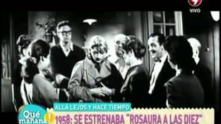 """Allá lejos y hace tiempo: 1958 se estrenaba """"Rosaura a las diez"""""""