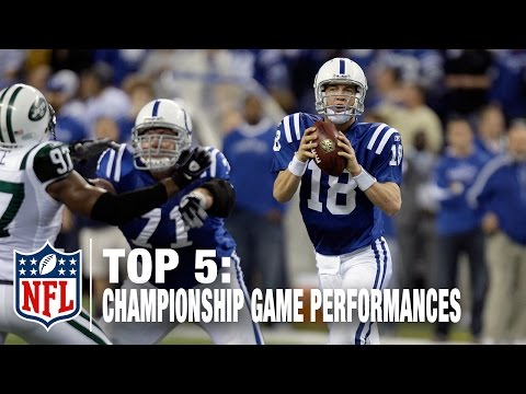 Top 5 QB Conference Championship Game Performances | NFL Now
