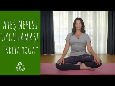 Ateş Nefesi Uyguluyorum I Kriya Yoga