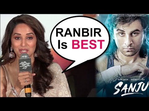 Madhuri Dixit's REACTION On Ranbir Kapoor's Sanju Movie Trailer | Bucket List Trailer Launch