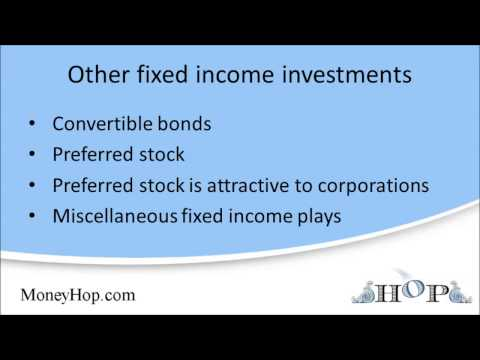 Other fixed income investments