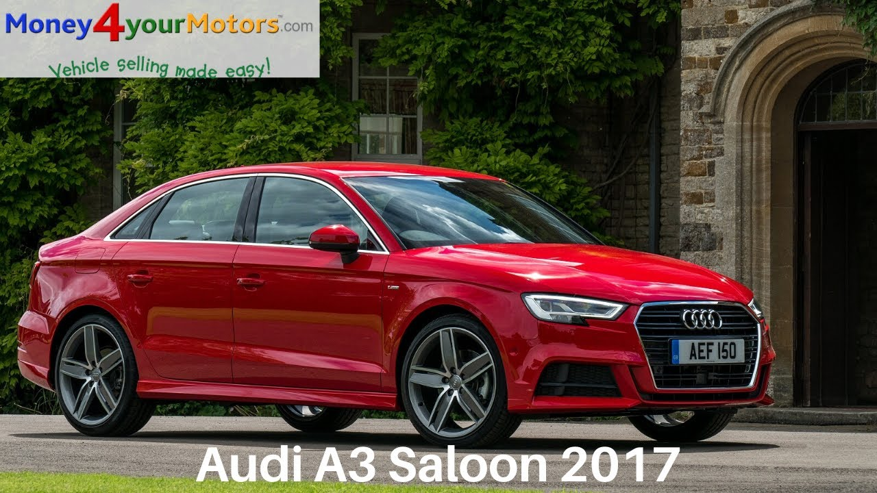 audi a3 saloon 2017 review youtube. Black Bedroom Furniture Sets. Home Design Ideas