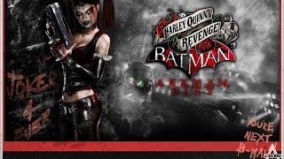 Batman Arkham City DLC Harley Quinns Revenge [1080p HD] - No Commentary
