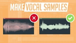 Make Vocal Samples in Under 2 Minutes!