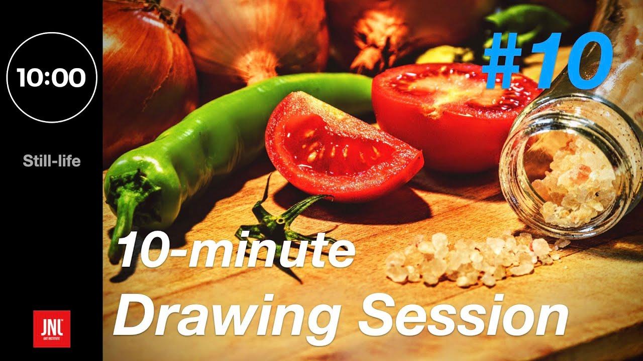 Croquis & Drawing session[Still-life]:10minute/ HD-Image! 일상 드로잉/크로키 연습 사진자료