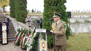 Alba24 VIDEO: 25 octombrie - Ziua Armatei Române. Ceremonial la Cimitirul Eroilor din Alba Iulia
