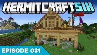 Hermitcraft VI 031 | A PIRATE HOUSE! ARR! 🌴 | A Minecraft Let's Play