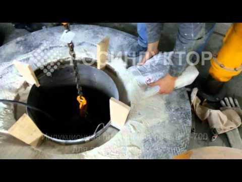 Индукционная плавильная печь ёмкостью 1 тонна. - Часть 1