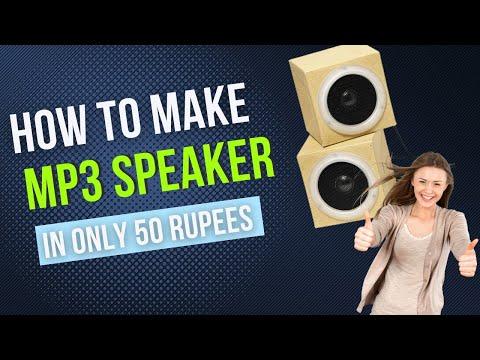 Home Made MP3 Player USB FM Radio AUX Input Good Sound