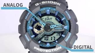 Casio G-Shock GA-110TS-8A2DR Watch Overview And Main Features