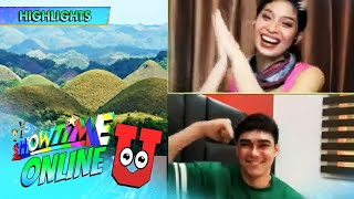 Online hosts play 'Game Na Ba U?' featuring tourist spots in the Philippines | Showtime Online U