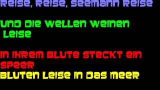 Rammstein- Reise, Reise (With Lyrics/mit Texten)- HD