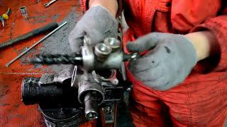 mitsubishi pajero( Бегемот) ремонт рулевой рейки.(, 2016-01-24T03:16:58.000Z)