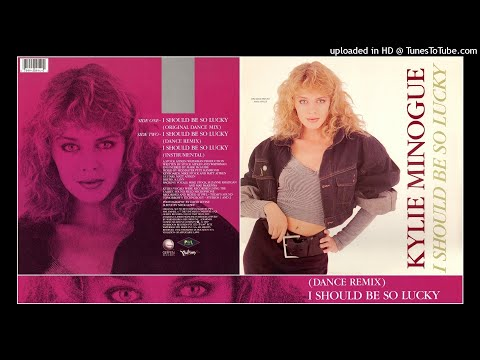Kylie Minogue - I Should Be So Lucky (Dance Remix) 1988 PWL Synth-Pop Eurobeat NRG 80s PETE HAMMOND