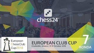 Campeonato de Europa de clubs de ajedrez 2018 (7ª)