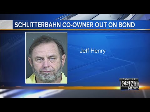 Schlitterbahn co-owner booked into Kansas jail on murder charge, bonds out