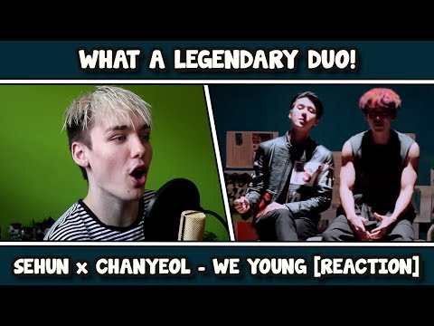 찬열 CHANYEOL X 세훈 SEHUN We Young MV REACTION EXO