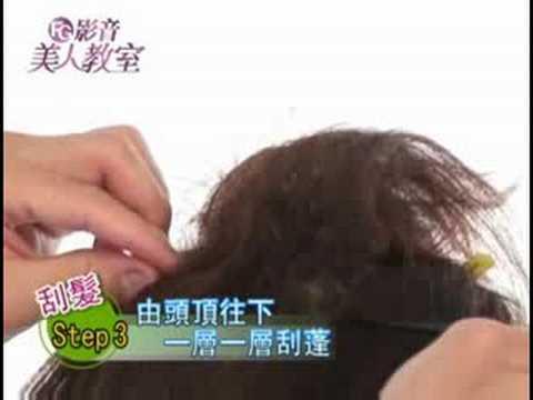FG美人教室/ 跟著Tony老師學─復古風刮髮技巧