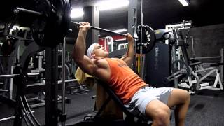 21 y/o Natural Bodybuilder - Polska Genetics and Mathieu Racheter: Chest Monday *100% MOTIVATION*
