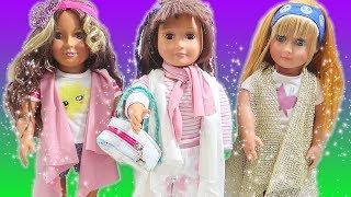 Oyuncak Bebeklere Kolay Dikişsiz Yelek Yapımı | Nasıl Yapılır Diy Kıyafet | Oyuncak Butiğim