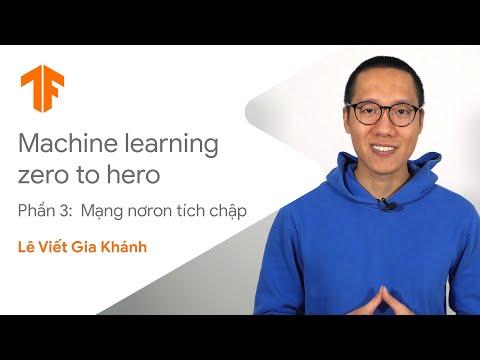 Giới thiệu về mạng nơ ron tích chập (Machine Learning: Zero to Hero, phần 3)