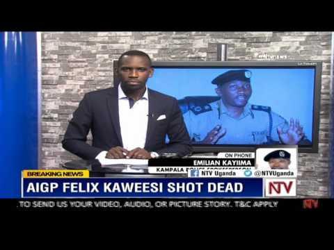Emillian Kayima, Spokesperson Kampala Metropolitan Police, gives update on Kaweesi shooting