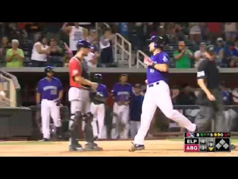Albuquerque's Murphy hits two-run homer