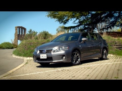 Driving Sports TV - 2013 Lexus CT200h Hybrid Hatch Reviewed