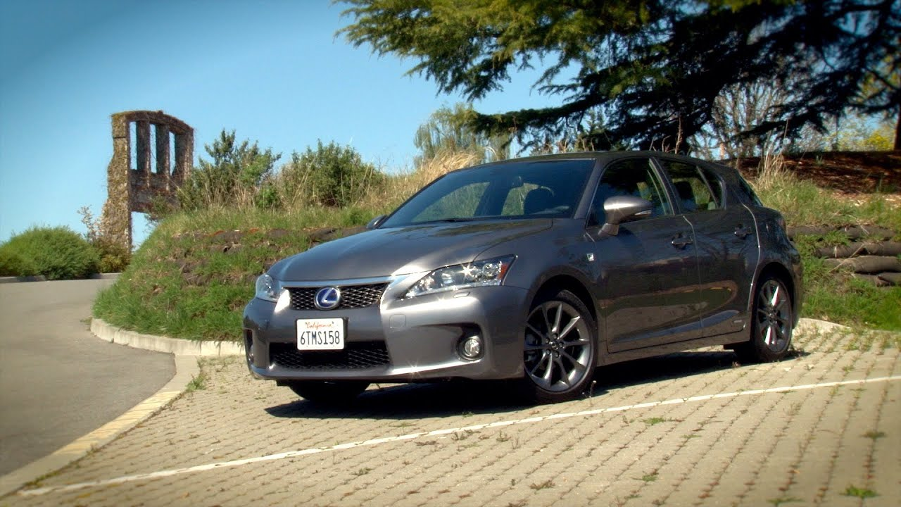 Driving Sports TV 2013 Lexus CT200h Hybrid Hatch Reviewed