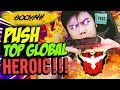 DISURUH SULTAN PUSH TOP GLOBAL MASTER!! X2 ANCUR!! - Free Fire Indonesia #119