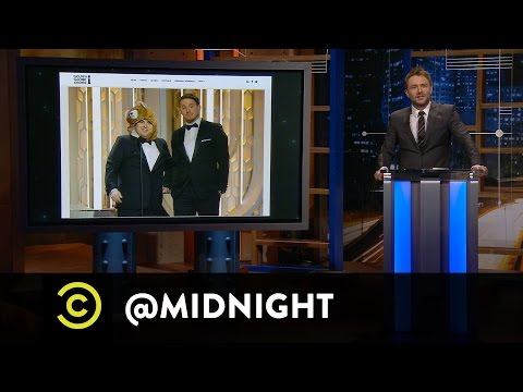 Jackie Kashian, Pete Holmes, Brett Gelman - Chemistry Experiments - @midnight with Chris Hardwick