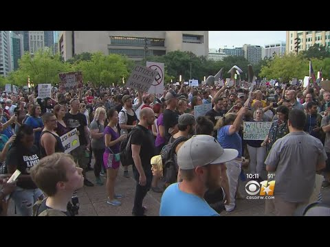 Thousands Attend Rally Against White Supremacy In Dallas