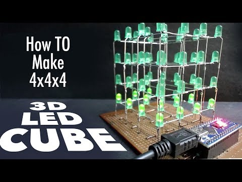 How to Make A LED Cube At Home Using Arduino