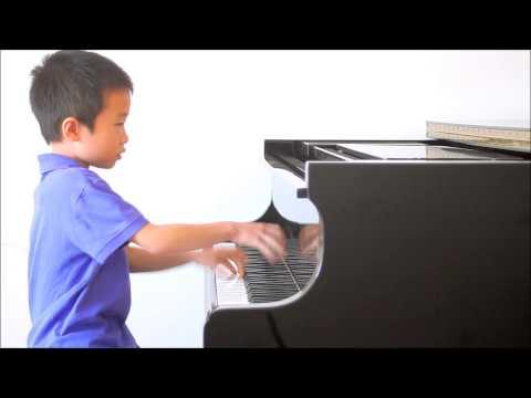 Huang Tiange Plays Bartok Mikrokosmos Vol. 4 No. 120