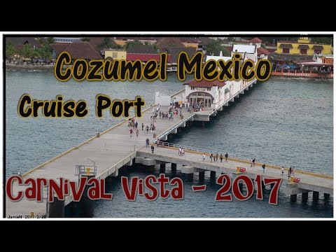 Cozumel Mexico Cruise Port (4K) 2017