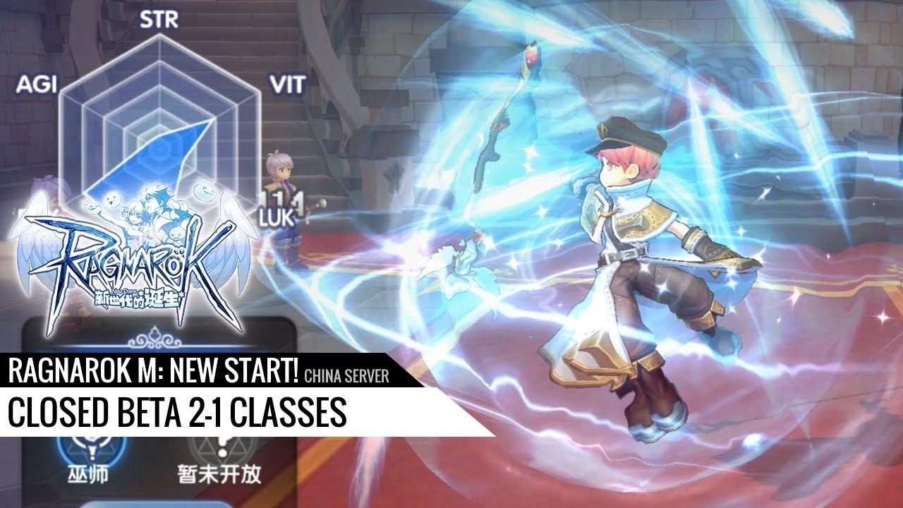 Ragnarok M: New Start! (CN) - Closed Beta 2-1 classes