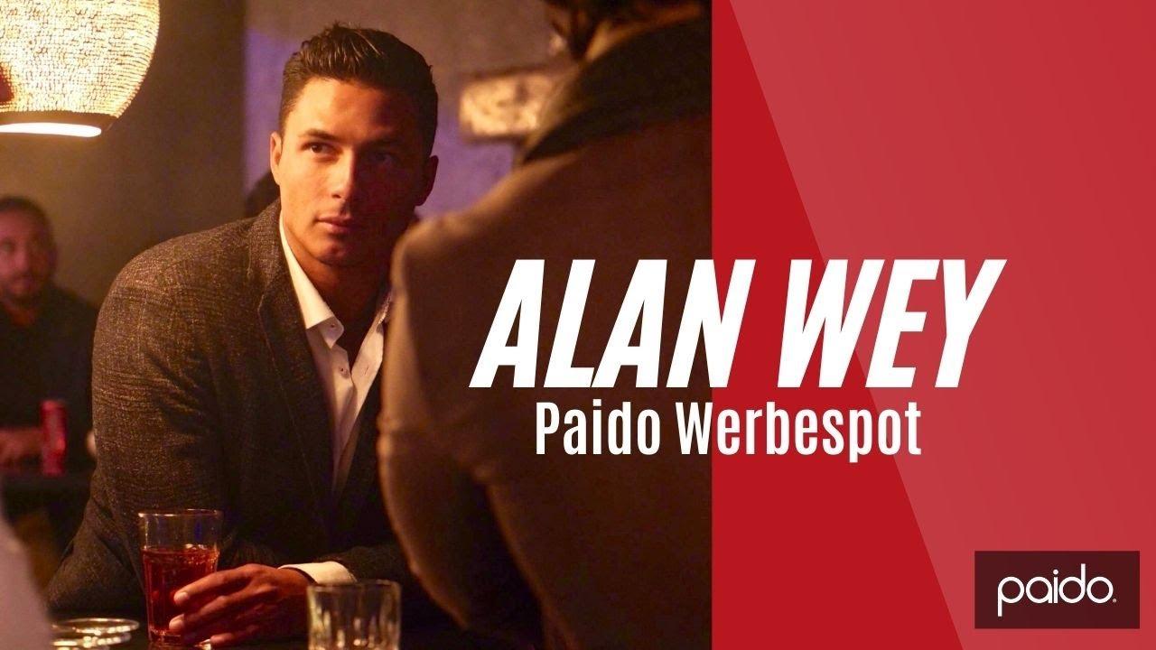 Paido Werbespot  mit Alan Wey ( Bachelor Schweiz)