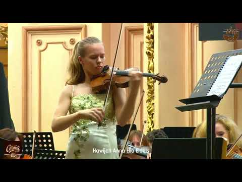 Hawijch Anna Elia Elders | 3-Тур | 26.10.2019 | ІII OLEH KRYSA 3rd International Violin Competition