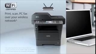 Brother MFC8710DW Wireless Printer with Scanner, Copier and Fax