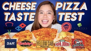 ULTIMATE Pizza Taste Test | Merienda Time PH