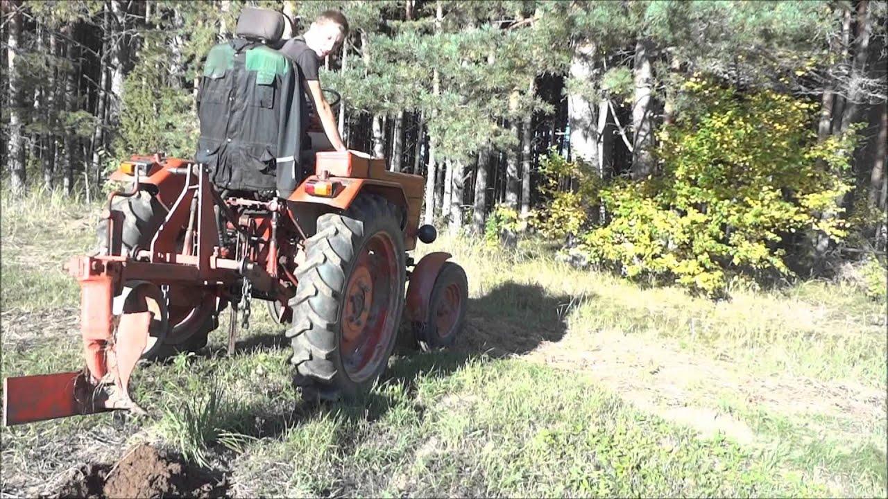Трактор т 25 плуг